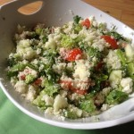 Cauliflower Cous Cous Salad