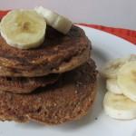 Cinnamon Almond Butter Pancakes
