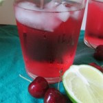 Cherry Lime Summer Spritzer