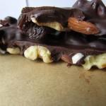2 Ingredient Vegan Nut (& Fruit) Bark