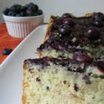 Gluten Free Blueberry Swirl Bread