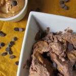 Vegan & Paleo Double Chocolate Almond Butter Ice Cream