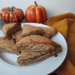 Mini Pumpkin Pie Scones