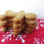 Paleo, Gluten Free, Vegan Gingerbread Cookies