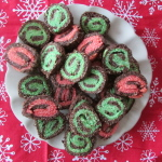 Gluten Free Chocolate Peppermint Pinwheel Cookies
