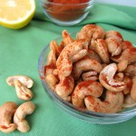 Roasted Lemon Cayenne Cashews