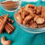 Roasted Cinnamon Vanilla Cashews