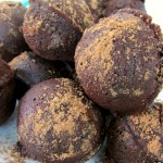 Paleo & Gluten Free Triple Chocolate Donut Holes