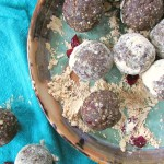 Peanut Butter Cranberry Protein Bites