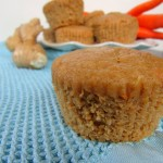 Gluten Free Orange Carrot Ginger Muffins